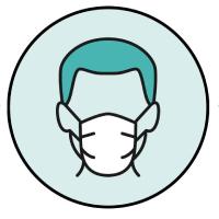 Mascherine e guanti per dipendenti e clienti